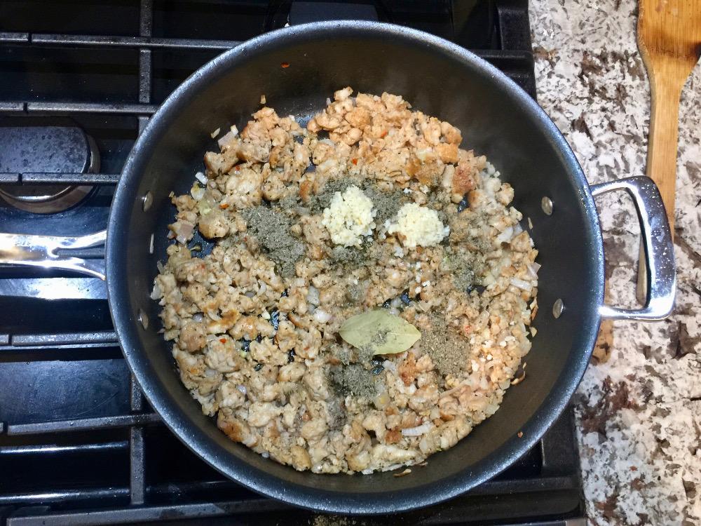spices for pumpkin pasta