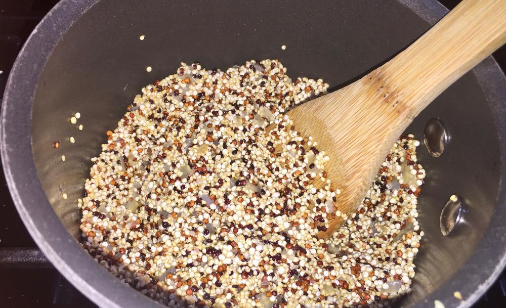 Toasted Quinoa